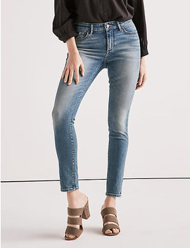 Ava Mid Rise Skinny Jean In Rocky River by Lucky Brand