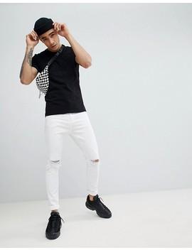 Love Moschino – T Shirt Mit Logoprägung by Love Moschino