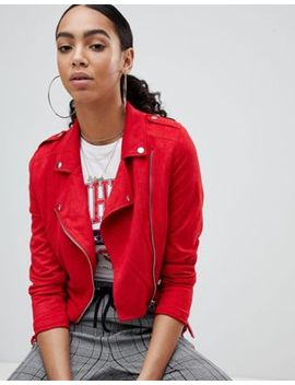 Missguided Cropped Suedette Jacket by Missguided