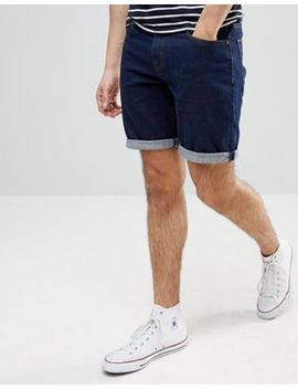 Asos Denim Shorts In Slim Indigo by Asos