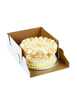 Wilton 415 0724 2 Pack Corrugated Cake Box, 12 By 12 By 6 Inch by Wilton