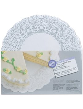 Wilton 10 Inch Show 'n Serve Cake Board, 10/Pack by Wilton