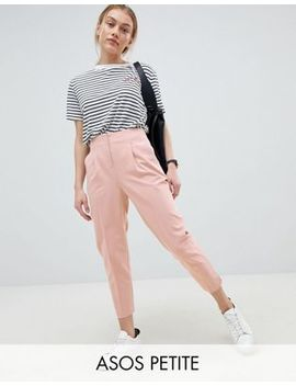 Asos Design Petite Mix & Match Cigarette Trousers by Asos Design
