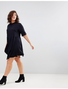 Asos Curve Mini Ultimate Cotton Smock Dress by Asos Curve