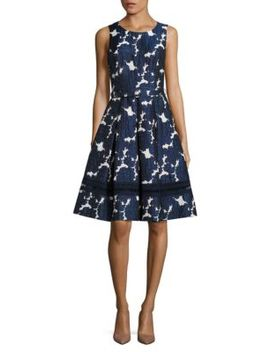 Floral Patterned Dress by Eliza J