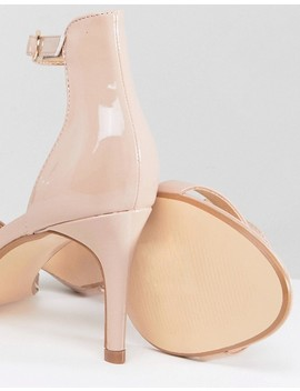 Truffle Collection Mid Barely There Heeled Sandals by Shoes