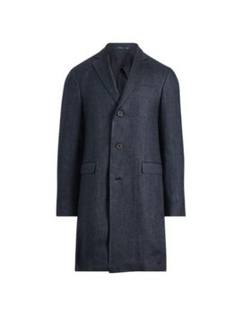 Morgan Linen Twill Topcoat by Ralph Lauren