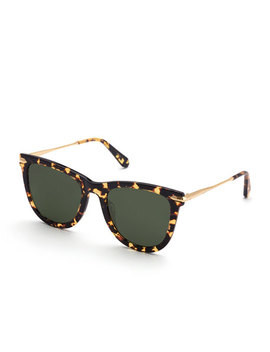 Simone Polarized Square Acetate Sunglasses, Zulu by Krewe