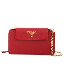 Saffiano Leather Mini Bag by Prada