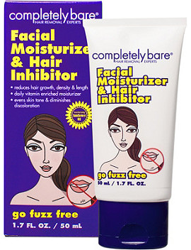 Go Fuzz Free Facial Moisturizer & Hair Inhibitor by Completely Bare