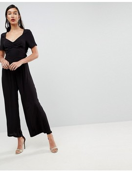 Asos Tall Tea Jumpsuit With Tie Back by Asos Tall