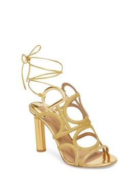 Vinci Lace Up Sandal by Salvatore Ferragamo