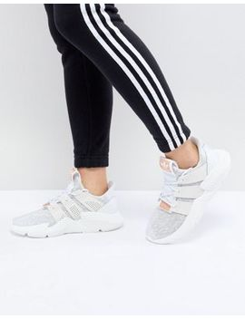 Adidas Originals Prophere Trainers In White by Adidas