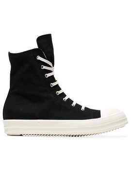 Canvas High Top Sneakershome Men Shoes by Rick Owens Drkshdw