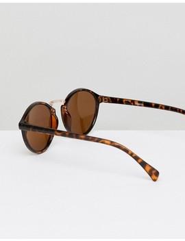 Asos Design Round Sunglasses 2 Pack In Black & Tort Save by Asos Design