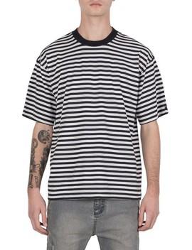 Zaberobe Stripe Box T Shirt by Zanerobe