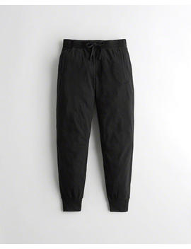Mid Rise Jersey Joggers by Hollister