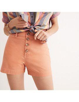 Emmett Button Front Shorts by Madewell