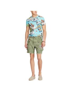Relaxed Fit Cotton Cargo Short by Ralph Lauren