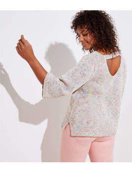 Loft Plus Bar Back Sweater by Loft