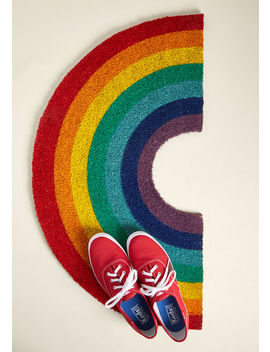 Chase The Rainbow Doormat Chase The Rainbow Doormat by Modcloth