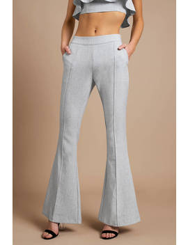 Half Of My Heart Light Grey Pants by Tobi