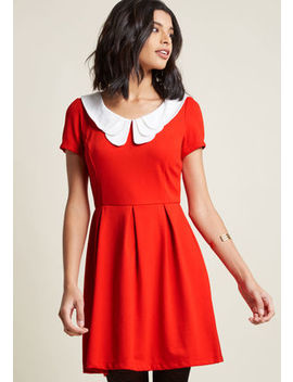Looking To Tomorrow Mini Dress In Rouge In S Looking To Tomorrow Mini Dress In Rouge In S by Modcloth