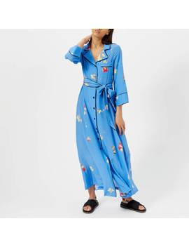 Ganni Women's Joycedale Dress   Marina by Ganni
