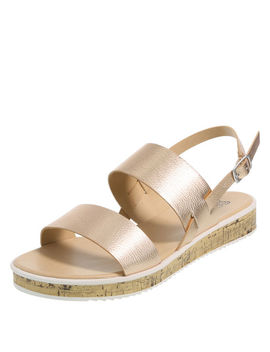 Women's Thatch Flat Sandal by Learn About The Brand Brash