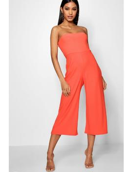Becky Bandeau Culotte Jumpsuit by Boohoo