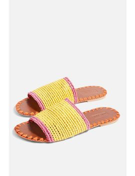 Fresh Woven Sliders by Topshop