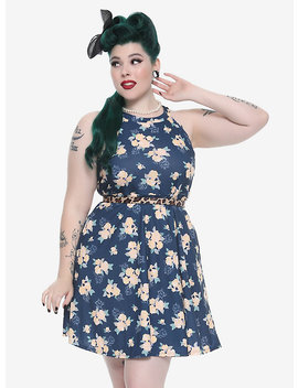 Disney The Aristocats Floral Dress Plus Size by Hot Topic