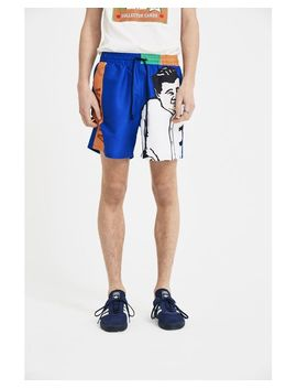 Heart Grid Shorts by J.W.Anderson