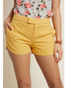 Positively Polished Shorts In Navy Positively Polished Shorts In Navy by Modcloth