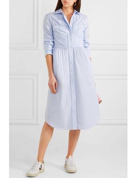 Striped Cotton Poplin Midi Dress by Alexachung