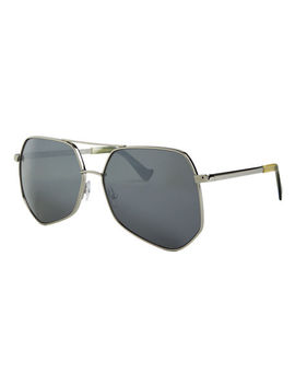 Megalast Large Aviator Sunglasses by Grey Ant