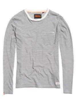 Lite Loom Masters Stripe T Shirt by Superdry