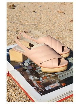 Women's Picasso Platforms Nude by Beklina