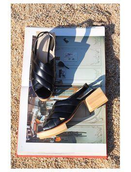 Women's Picasso Platforms Black by Beklina