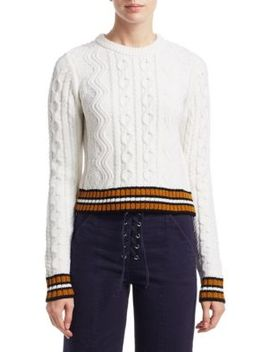 Alpha Cable Knit Sweater by A.L.C.