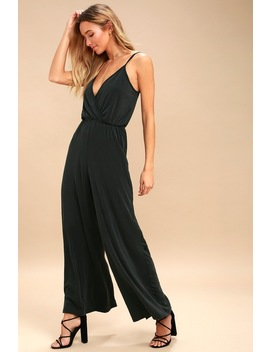 Loxie Charcoal Grey Wide Leg Jumpsuit by Ppla