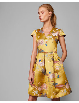 chinoiserie-jacquard-dress by ted-baker