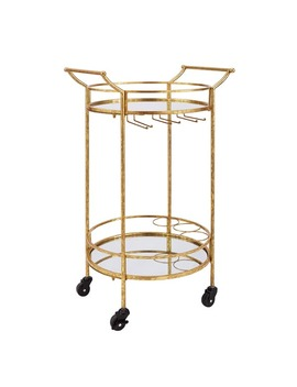 silver-orchid-grant-gold-round-metal-bar-cart by silver-orchid