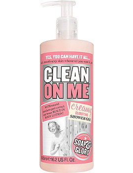 Clean On Me Creamy Clarifying Shower Gel by Soap & Glory