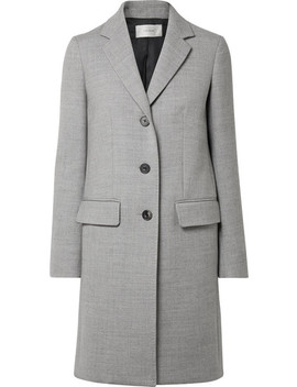Amutto Wool Twill Coat by The Row