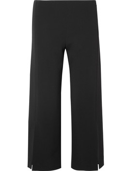 Paber Cropped Cady Wide Leg Pants by The Row