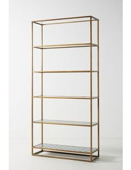 Art Deco Etagere Bookcase by Anthropologie