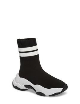 Tenko Ankle High Top Sock Sneaker by Jeffrey Campbell