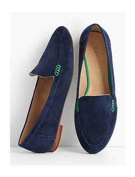 Ryan Loafers Kid Suede by Talbots