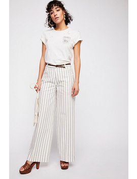 Extra Wide Tailored Pants by Free People